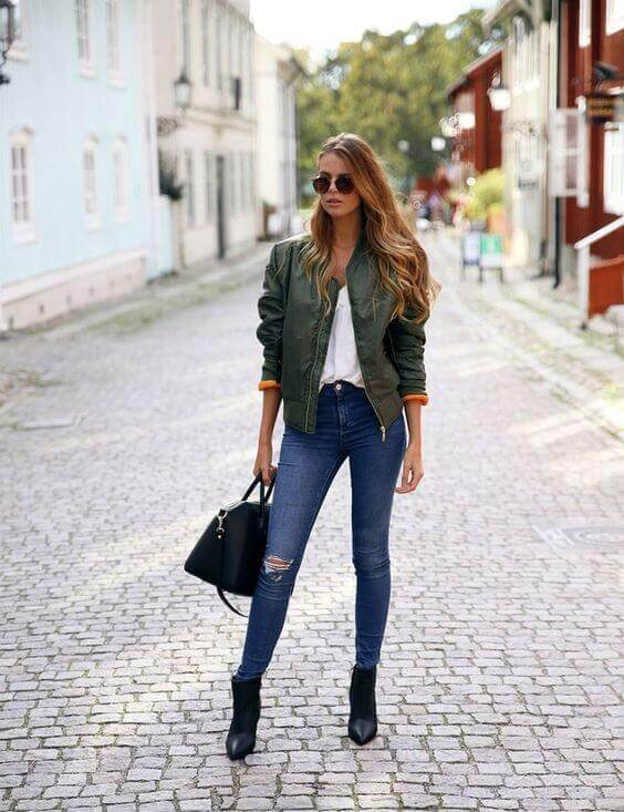 Our top picks for this style include numerous ideas starting with a blue quilted bomber cardigan or otherwise any kind of bomber coat and building on it with different pieces to create a fashionable look for many occasions. See more at snazzylair.com