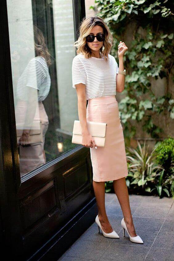 We would like you to pin the cute tops for pencil skirts outfits so you can save the combinations you like best, and, who knows, find a whole new look you will look great in. For more ideas go to snazzylair.com
