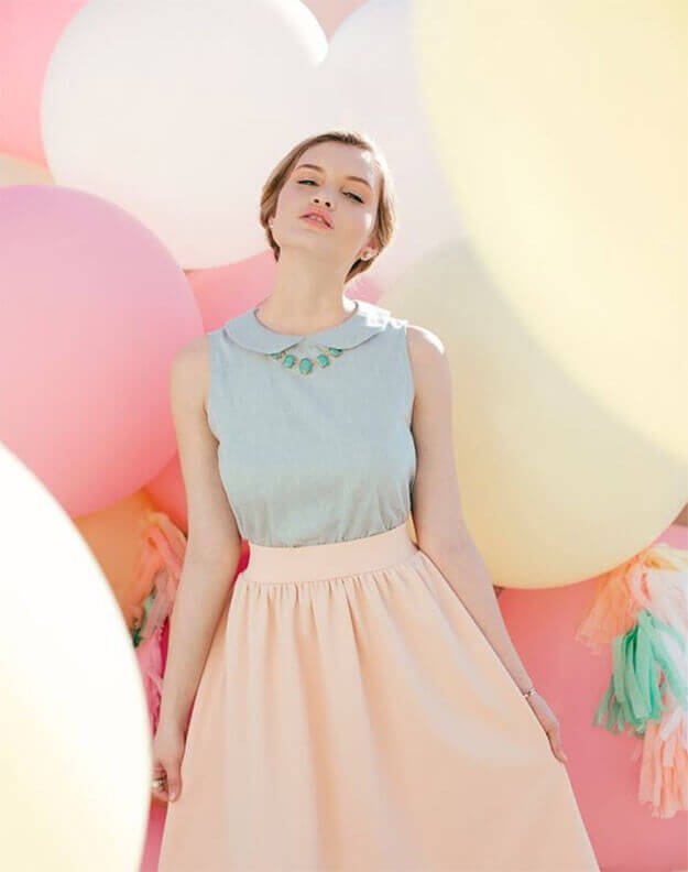 These fresh spring pastels are bound to give you a soft yet chic look, perfect to dress up or down, both for work and for your days off.